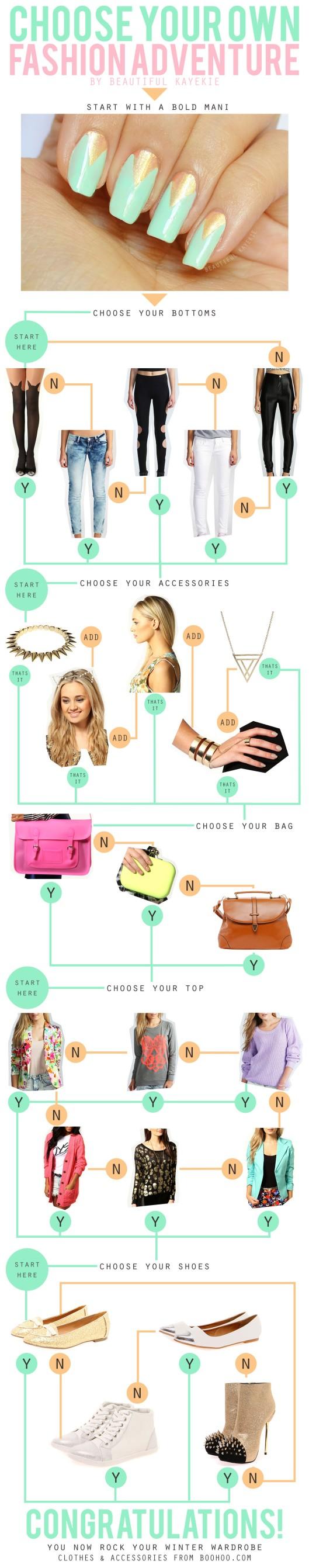 choose your own fashion adventure boohoo.com collaboration